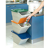 第二代《疊疊樂》環保資源回收箱(3入組)