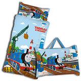 《Thomas歡樂湯瑪士-港口篇》兒童睡袋(4X5尺)