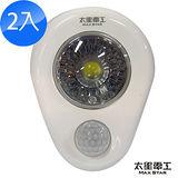 Max Star-LED感應燈/輕巧型/電池式(2入)