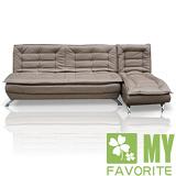 【喬立爾】最愛傢俱 安格斯L型沙發床(椅)