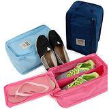 【旅行配備】拉鍊防水收納鞋袋