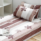 Alisa 愛麗莎(秋意時節-咖)雙人加大三件式床包組
