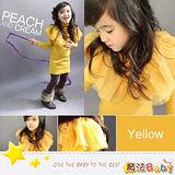 (購物車)魔法Baby~歐美風蛋糕造型波浪肩長版上衣~童裝~女童裝~時尚設計童裝~k25996