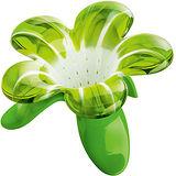 《KOZIOL》Audrey附座花朵濾茶器(綠)