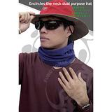 【台灣製 SNOW TRAVEL】POLARTEC 透氣保暖圍頸兩用帽.超輕量.柔軟絨面.不起毛球.遮耳帽 .百變造型(共三色)