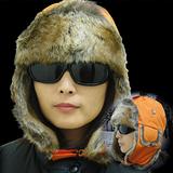 SNOWTRAVEL 極地保暖遮耳帽.飛行齒輪. 雪帽 .防風.保暖.保暖的毛料材質抗寒度可達零下20度