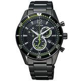 CITIZEN 爭鋒相對光動能腕錶 AT2115-52E