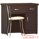 Margaret-羅拉2.7尺可掀式化妝台椅組(三色)