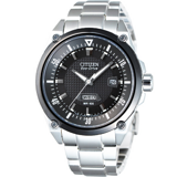 CITIZEN 經典品味光動能腕錶-黑 BM5005-69E