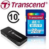 Transcend創見 WI-FI 32GB CLASS10 SDHC 無線記憶卡