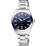 epos 經典光輝時尚機械女錶-都會藍 4411.131.20.16.30