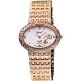 Ogival 嫦娥紀念真鑽典藏腕錶-珍珠貝/玫塊金 309DLR玫塊