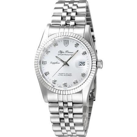 Olympianus 經典晶鑽腕錶-銀 89322S
