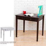 BuyJM 經典雙抽實木腳書桌(寬80cm)-可選色