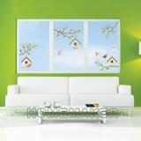 FIXPIX 創意造型壁貼-彩繪鳥巢與樹屋 (HPS-60032)