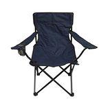 休閒扶手折疊椅-藍(48*48*80cm)