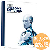 ESET Endpoint Antivirus 5 企業版含中央控管-三年30用戶授權【加贈SAMPO濾水壺】