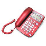 【東元TECO】來電顯示有線電話-紅(XYFXC002-R)