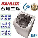 【台灣三洋 SANLUX】6.5公斤單槽洗衣機 ASW-87HTB