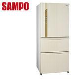 [促銷]SAMPO聲寶560L變頻三門冰箱SR-LW56DV(W3)送安裝