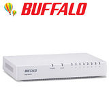 BUFFALO 8 Port 交換器LSW5-GT-8EP/W-TW