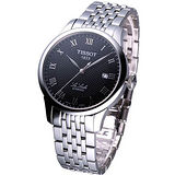 TISSOT Le Locle 立洛克 自動機械腕錶 鋼帶款 T41148353