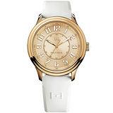 TOMMY HILFIGER 當代時尚腕錶-玫塊金/白 M1781286