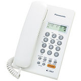 Panasonic國際牌免持擴音來電顯示有線電話KX-TSC62科技白