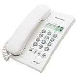 Panasonic國際牌高品質來電顯示有線電話KX-TSC60科技白
