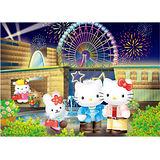 【SANRIO三麗鷗家族拼圖】Hello Kitty-煙花摩天輪 520 pcs