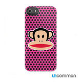 Uncommon iPhone5 / 5s Paul Frank系列 滑蓋保護殼- Pink Black Mini Dots julius