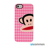 Uncommon iPhone5 / 5s Paul Frank系列 滑蓋保護殼- Zoom Julius HT Pink