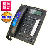 Panasonic國際牌來電顯示電話KX-TS880 時尚黑