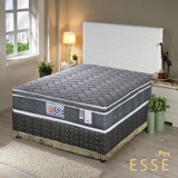 老師傅工藝《ESSE》御璽名床【3D透氣網布】三線加高獨立筒床墊6x6.2尺-雙人加大