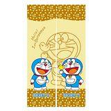 哆啦A夢Doraemon和風長門簾-黃150x85cm(FL802)