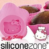 【Siliconezone】施理康Hello Kitty杯子蛋糕模