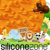 【Siliconezone 】施理康ZOO耐熱老虎巧克力模/冰模