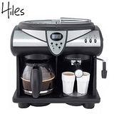 Hiles 尊爵2in1半自動咖啡機 CM4605T 送HILES電動磨豆機