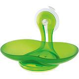 《KOZIOL》吸盤肥皂架(透綠)