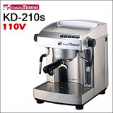 Tiamo WPM KD-210s 義式半自動咖啡機【銀色】110V (HG0966 S)