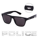 POLICE 都會復古時尚偏光太陽眼鏡 (消光黑) POS1796-700Z